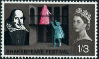 Great Britain 1964 400th Anniversary of the Birth of William Shakespeare c