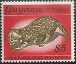 Guyana 1968 Wildlife o