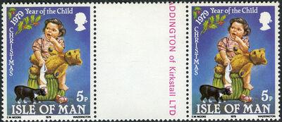 Isle of Man 1979 Christmas and International Year of Child g