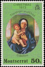Montserrat 1973 Christmas c