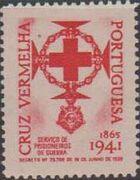 Portugal 1941 - Red Cross - Cinderellas Cinderella b