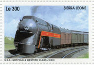 Sierra Leone 1995 Railways of the World 4i