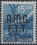 Trieste-Zone A 1947 Democracy (Italy Postage Stamps of 1945 Overprinted) j