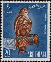 Abu Dhabi 1965 Falconry a