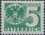 Austria 1935 Coat of Arms and Digit o