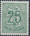 Belgium 1951 Heraldic Lion (1st Group) d.jpg