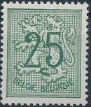 Belgium 1951 Heraldic Lion (1st Group) d