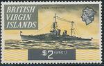 British Virgin Islands 1970 Ships o