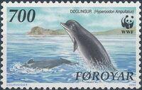 Faroe Islands 1990 WWF - Whales d