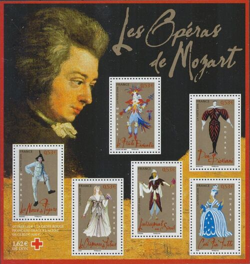 France 2006 Costumes From Operas by Wolfgang Amadeus Mozart SSa