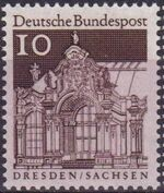 Germany, Federal Republic 1967 Building Structures from Twelve Centuries (2nd Group) a