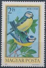 Hungary 1973 Birds f