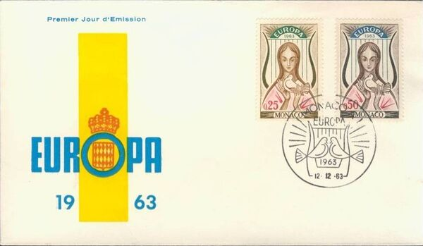Monaco 1963 Europa g