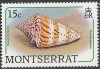 Montserrat 1988 Sea Shells c