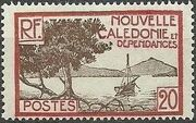 New Caledonia 1928 Definitives g