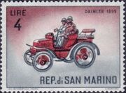San Marino 1962 Automobiles (pre-1910) d