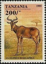 Tanzania 1995 African Hoofed-animals e