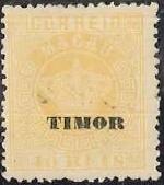 """Timor 1884 Stamps of Macau Overprinted """"TIMOR"""" e"""