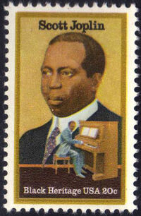 United States of America 1983 Black Heritage Series - Scott Joplin (1868-1917) a