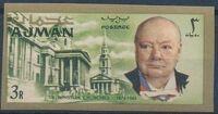 Ajman 1966 Winston Churchill n