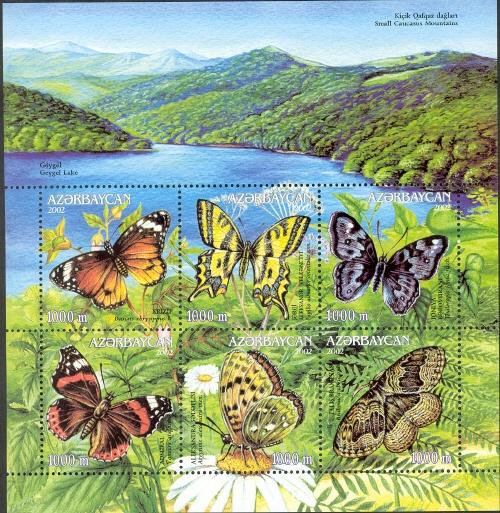 Azerbaijan 2002 Butterflies and Moths g