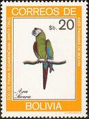 Bolivia 1981 Macaws h