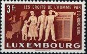 Luxembourg 1951 European Agreement e