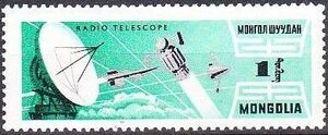 Mongolia 1964 Space Research h