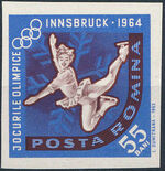 Romania 1963 9th Winter Olympic Games in Innsbruck l