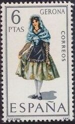 Spain 1968 Regional Costumes Issue f