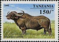 Tanzania 1995 African Hoofed-animals c