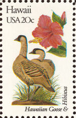 United States of America 1982 State birds and flowers J