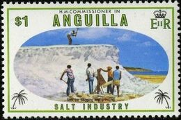 Anguilla 1980 Salt Industry e
