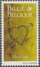 Belgium 1999 Greetings Stamps f