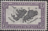 Falkland Islands 1933 100th Anniversary of British Administration e