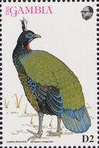 Gambia 1993 Birds of Africa j