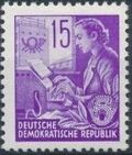 Germany DDR 1953 Workers For The Five-year Plan g