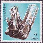 Germany DDR 1972 Minerals Found in East Germany a