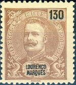 Lourenço Marques 1903 D. Carlos I New Values and Colors g