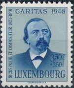 Luxembourg 1948 Edmond de La Fontaine c