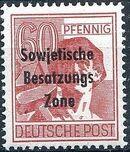 Russian Zone 1948 Overprint - Sowjetische Besatzungs Zone n