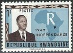 Rwanda 1962 Independence c