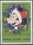 Sierra Leone 1997 Disney Christmas Stamps e