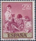 Spain 1960 Painters - Bartolomé Esteban Murillo h