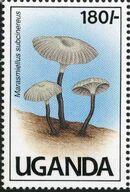 Uganda 1991 Mushrooms of Uganda e