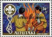 Aitutaki 1983 15th World Scout Jamboree (Semi-Postal Stamps) a