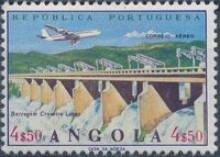 Angola 1965 Various Works and Airplane e