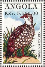 Angola 1996 Hunting Birds f