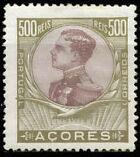 Azores 1910 D. Manuel II m