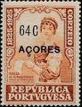 Azores 1925 Birth Centenary of Camilo Castelo Branco p.jpg